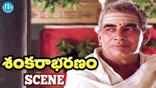 Sankarabharanam Movie Scenes - Shankara Sastry Decides To Do His Daughter Marriage