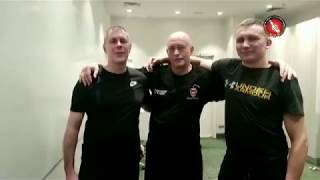 Street Fight training in Moscow with the Boxer from Amsterdam 2019