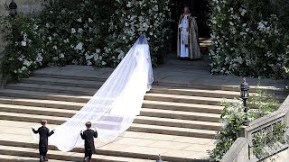 Meghan Markle arrives at royal wedding to Prince Harry