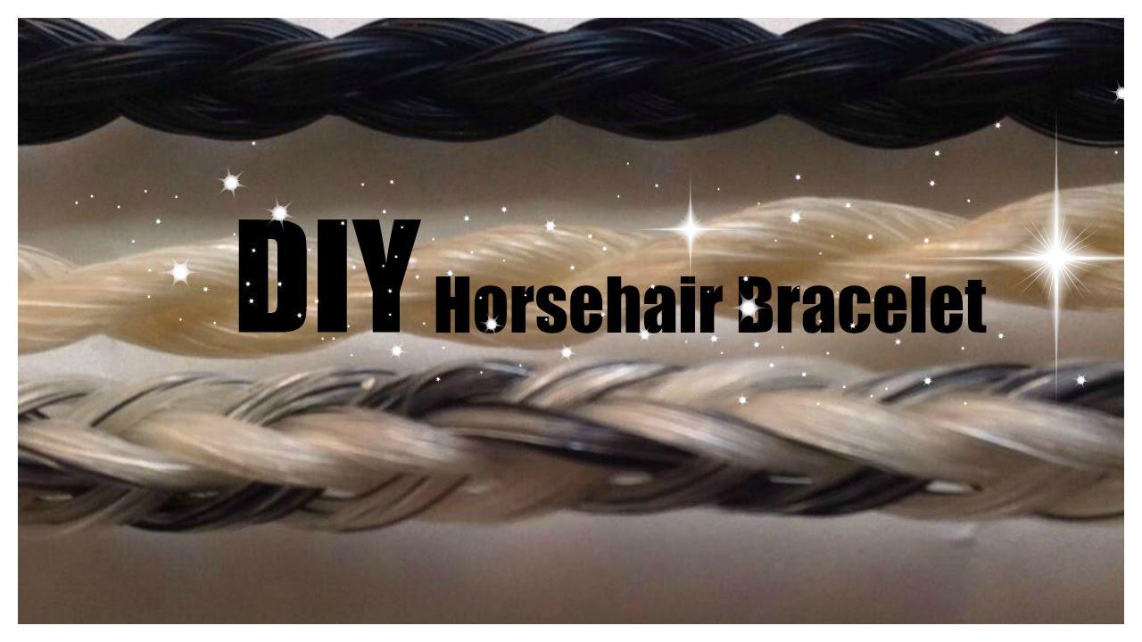 Diy Horsehair Bracelet Tutorial