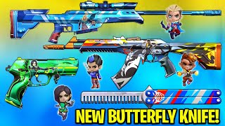 *NEW* Valorant GO! Vol. 2 Skİns are SO PERFECT! - [Butterfly Knife]