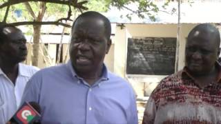 CS Matiangi weighs in on the feeding of KCPE and KCSE candidates in Mombasa