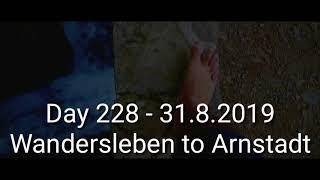 Tag 228 von Wandersleben nach Arnstadt - Lauf um die Welt für das Leben gegen Suizid & Depression