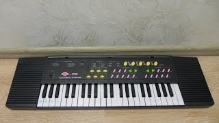 Синтезатор SK 3738 - музыкальная игрушка для детей.