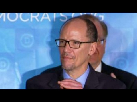Former labor secretary Tom Perez named DNC chair