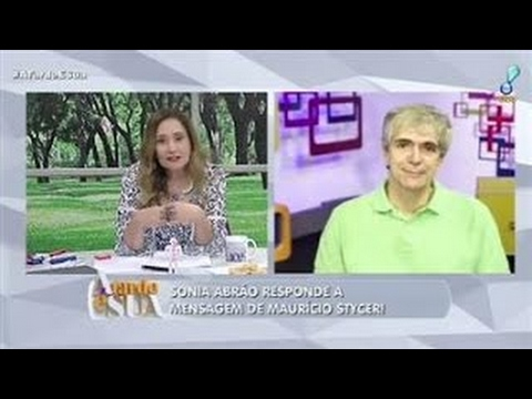 Sonia Abrão responde mensagem de Mauricio Stycer: Magoei de verdade