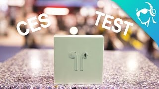 Apple Airpods - CES Connection Test