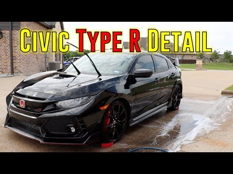 Honda Civic Type R Detail (ASMR)
