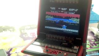 Wave 1/12 Scale Vewlix Cabinet(lcd Mod.) With Yie Ar Kung-fu 2 (msx)