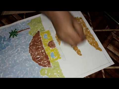 How to make a collage project for school activity