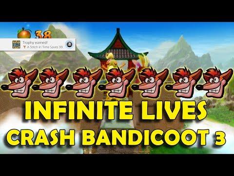 Crash Bandicoot 3: Warped Cheats, Codes, Cheat Codes for