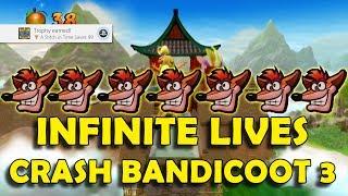 Crash Bandicoot 3: Warped - Unlimited Lives Farming (99 Lives in 30 Minutes)