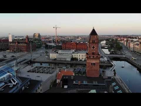 Malmö by drone, DJI MAVIC AIR