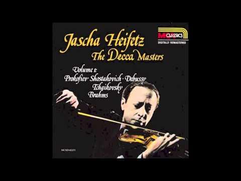 HEIFETZ/KAYE play Debussy's