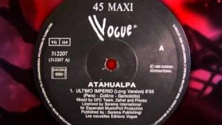 "Gambar cover ATAHUALPA   "" Ultimo Imperio "" 1990"