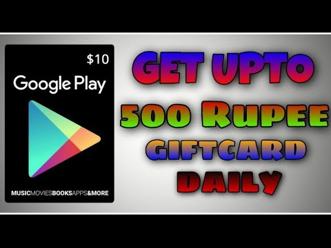 GET FREE 10$ GOOGLE PLAY GIFT CARD REDEEM CODES 💥