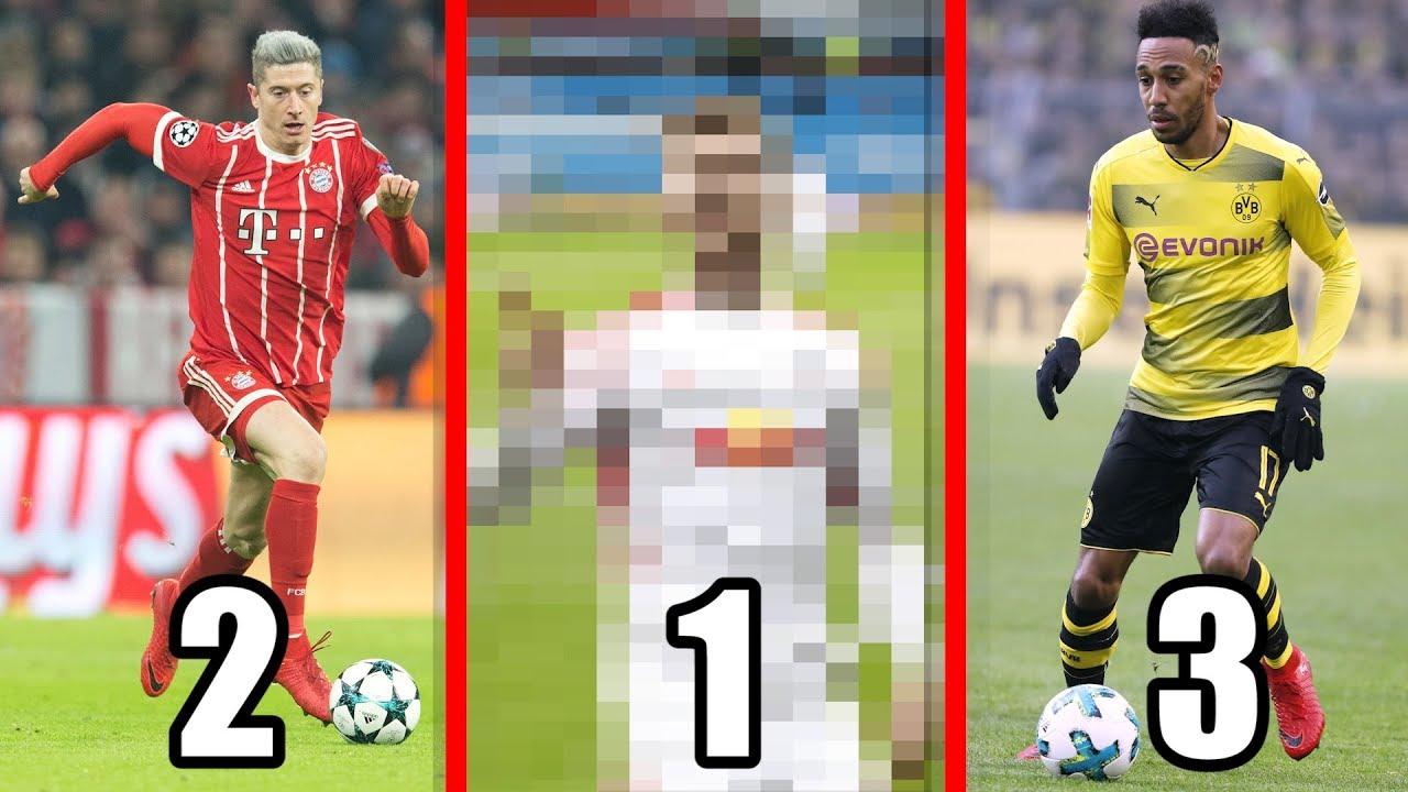 Torjägerliste Der Bundesliga