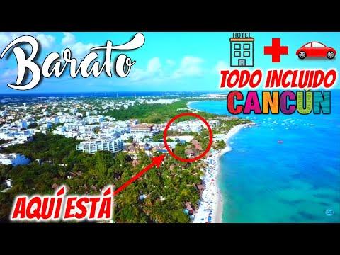 ✅ INCREÍBLE Hospedaje y Auto 🔥 $65 USD 😱 | 🔴 Hospedaje RIVIERA MAYA 💲 BARATO | 🏝 con playa WOW 😍