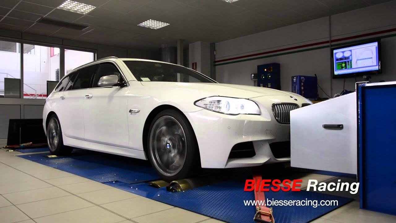BMW M550d Dyno Test