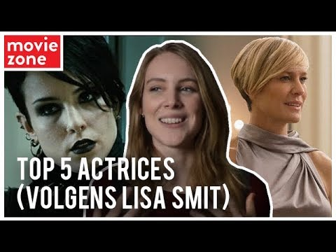 MovieZone Reports  De 5 favoriete actrices van Lisa Smit