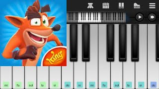 Crash Bandicoot Mobile Turtle Woods (Collection Run) Piano Tutorial SOLDIERDIEGO