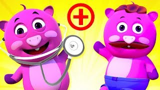 DOCTOR FAMILY SONG PART 2 | 3D Nursery Rhymes For Kids By All Babies Channel