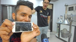 Destroying Triggered Insaan's iPhone (ft. Triggered Insaan)