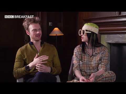 Louise Minchin interviews Billie Eilish & Finneas in world's first TV interview on new Bond theme