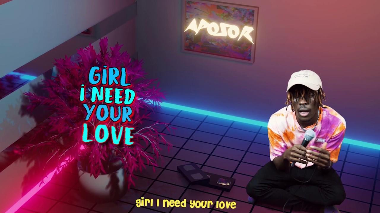 Kofi Mole - Your Love (Lyric Video)