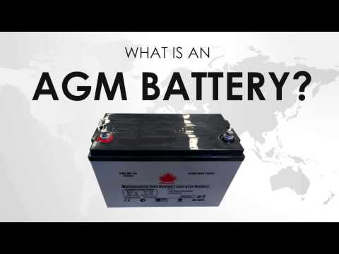 What is an AGM battery