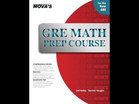 nova gre math prep course pdf