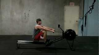Rowing Machine - How To Demonstration