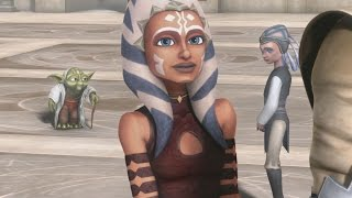 Star Wars: The Clone Wars - Yoda's vision of dying Ahsoka Tano & world without war [1080p]