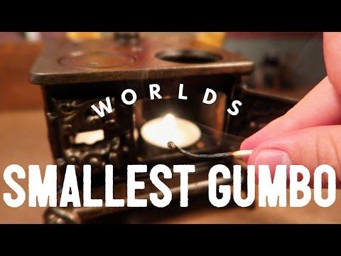WORLDS SMALLEST GUMBO!