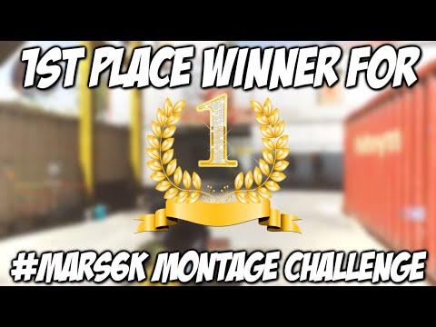 1st Place Winner for #Mars6k Montage Challenge!