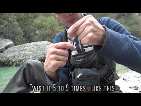 How To Attach Your Fly To The Leader. Super Quick Method!!
