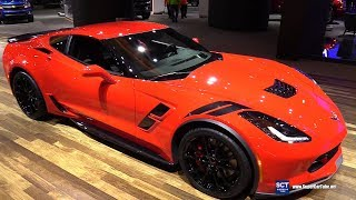 2018 Chevrolet Corvette Grand Sport - Exterior and Interior Walkaround - 2018 Detroit Auto Show
