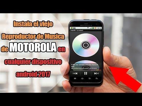 Instala el Reproductor OFICIAL de Musica de MOTOROLA | El MITICO reproductor (Motorola Defy)