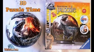RAVENSBURGER 3D Puzzle - Jurassic World Fallen Kingdom - Review #262 (german)
