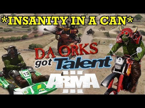 ArmA 3 But We're All Orks Putting On A Talent Show - Fustercluck In Only War