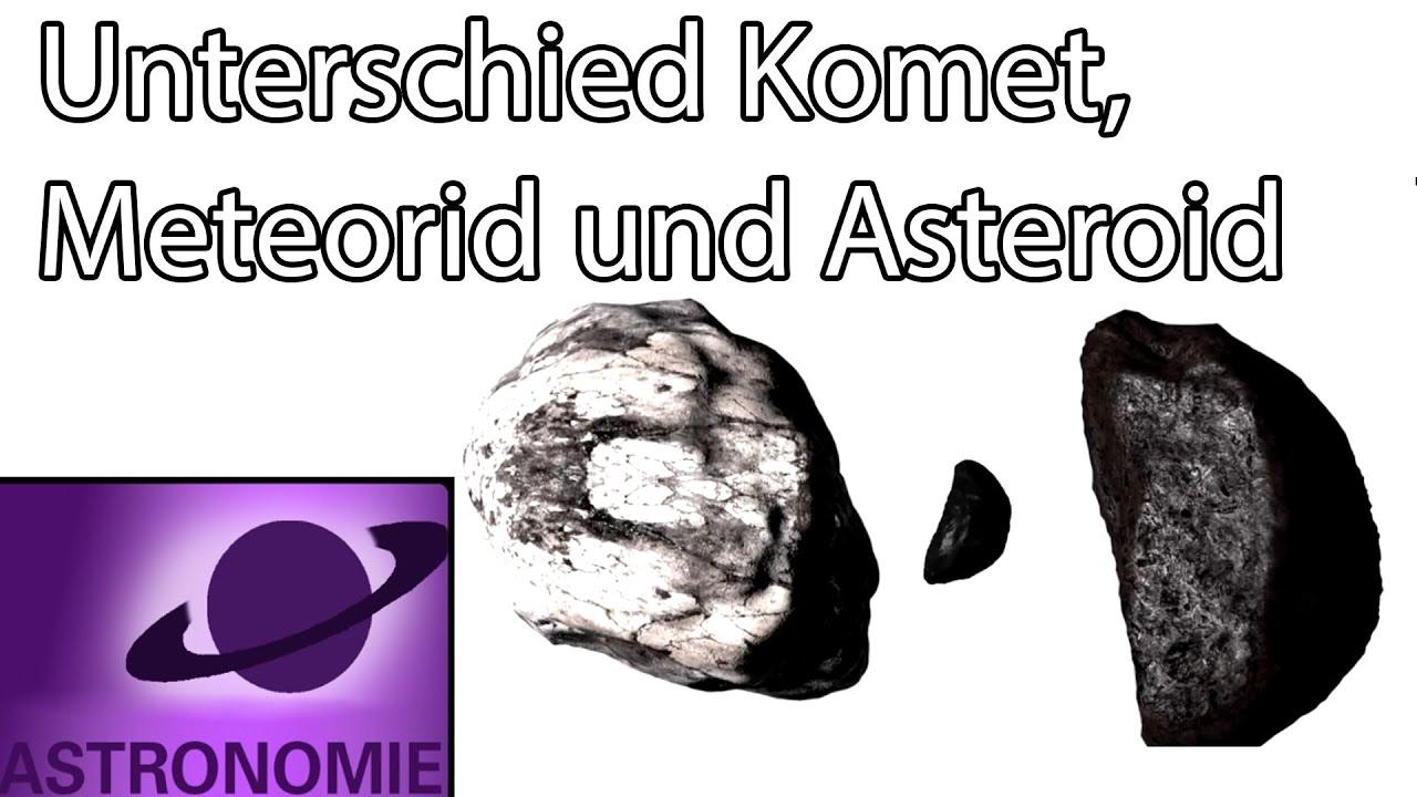 Was Unterscheidet Kometen, Asteroiden Und Meteorite?