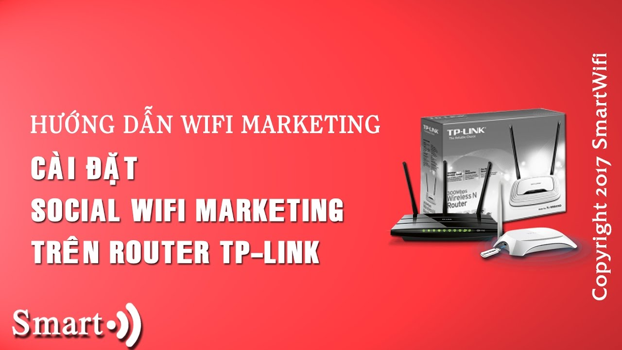 Hướng dẫn Smartwifi | cài đặt trên router tp-tplink với Social Wifi Marketing miễn phí #2