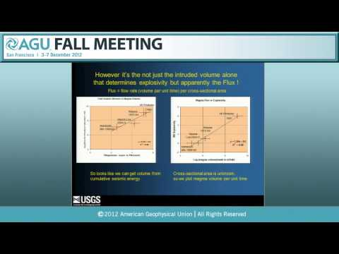 V44B. Linking Diverse Constraints on Volcanic Unrest - 2012 AGU Fall Meeting