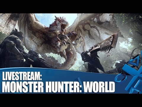 Monster Hunter: World - Jumping into Astera!
