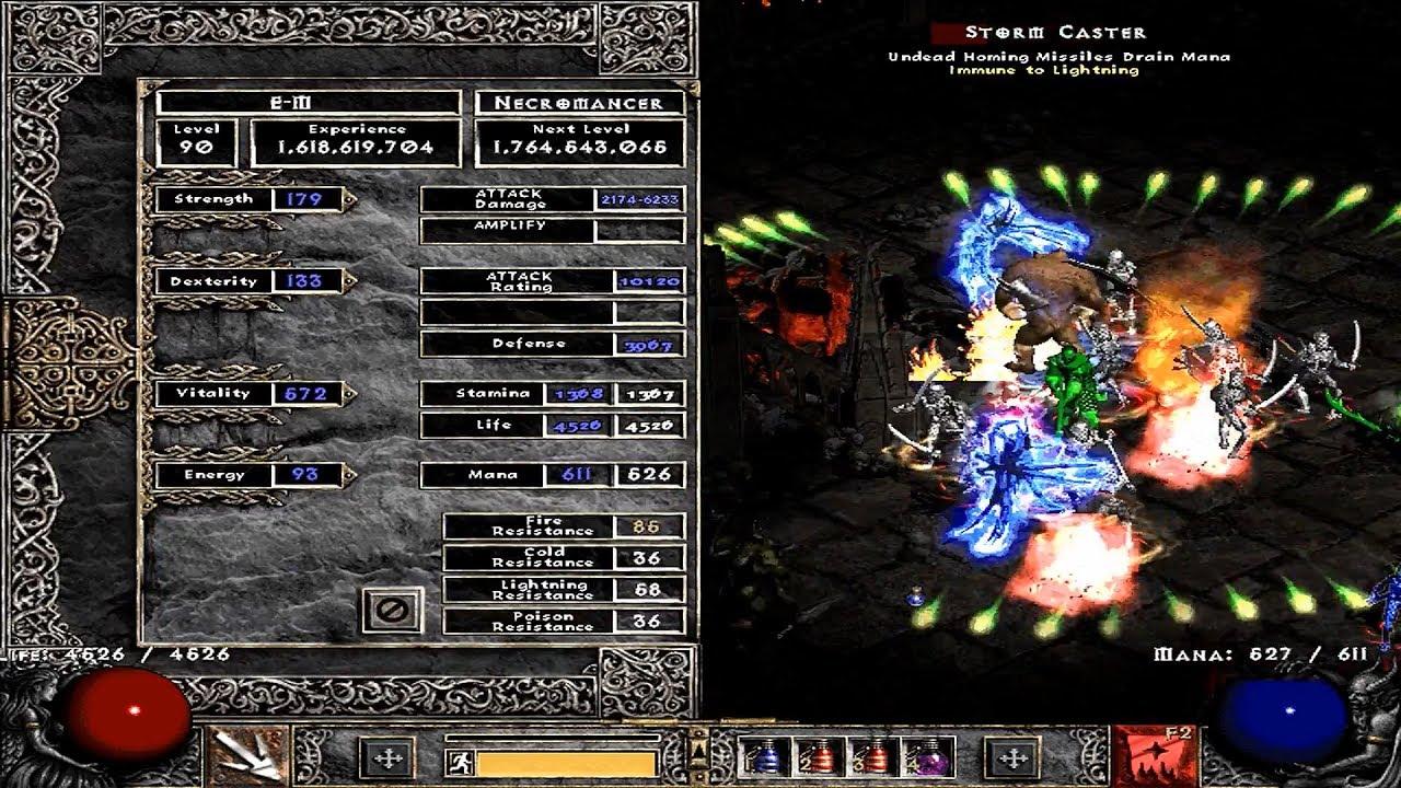 best necromancer build diablo 2