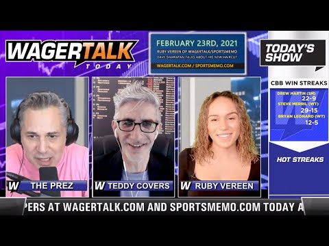 Daily Free Sports Picks | NBA Betting Tips and NHL Predictions on WagerTalk Today | Feb 23