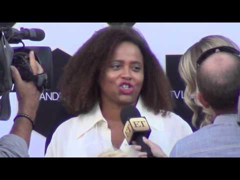 Lisa Nicole Carson outside the 2015 TV LAND Awards