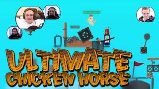 VI ØDELEGGER LIVENE VÅRE - Ultimate Chicken Horse / Norsk Gaming