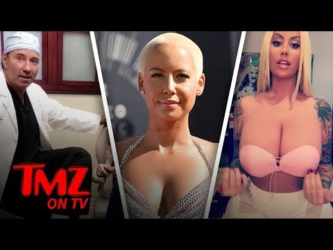 Say Bye To Amber Rose's Big Breast! | TMZ TV