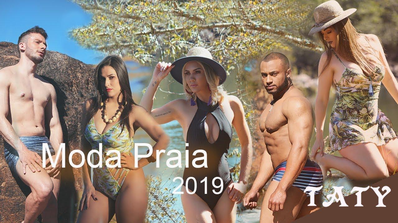 7fb1863e3 Taty Moda Íntima - Moda Praia 2019 - YouTube